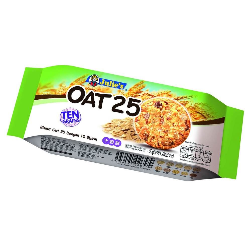 Oat 25 Ten Grains 50g
