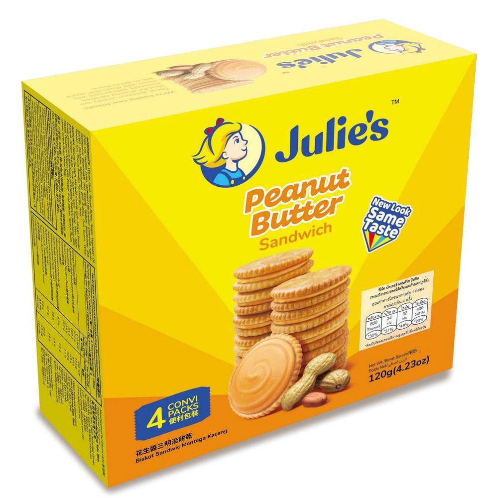 Peanut Butter Sandwich (8's) 120g