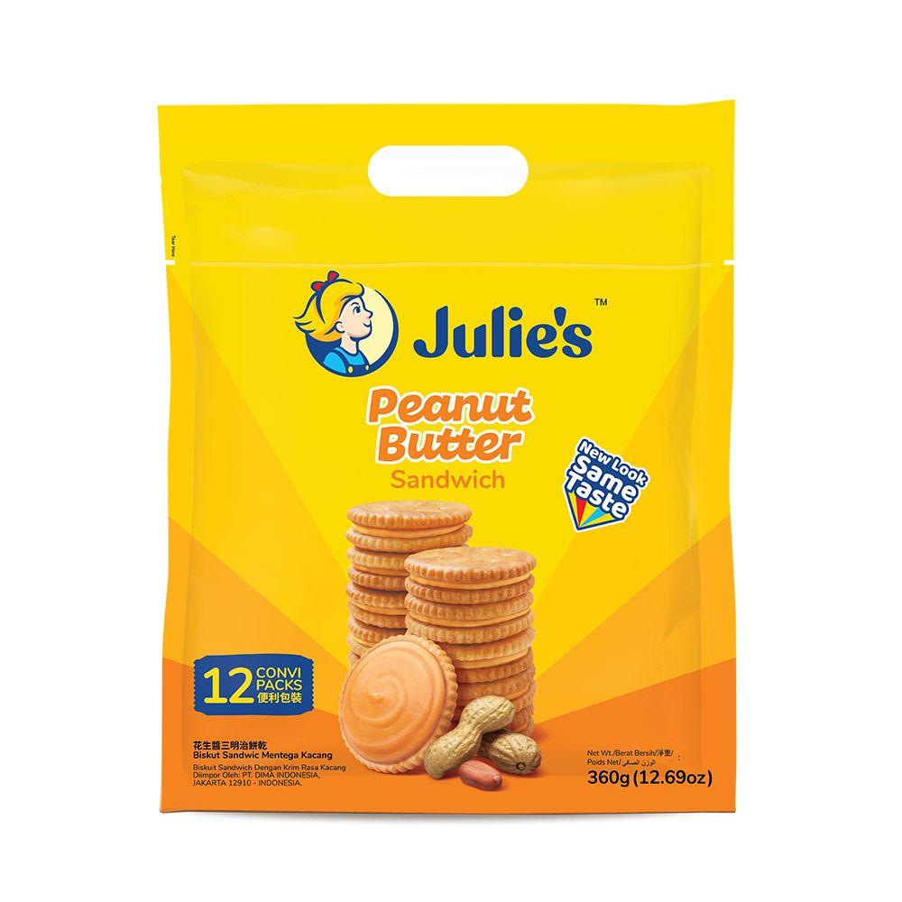 Peanut Butter Sandwich (12's) 360g