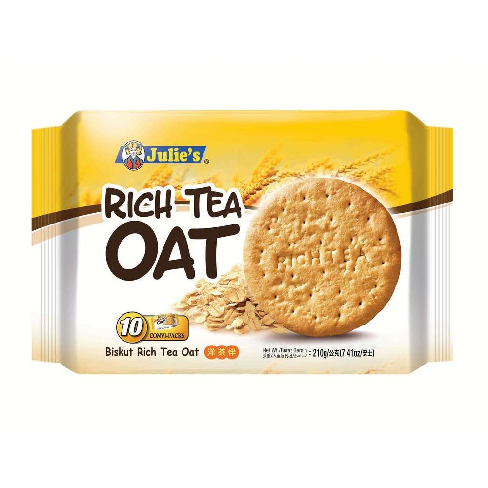Rich Tea Oat (10's) 210g