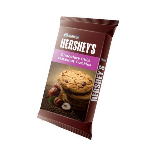 Julie's Hershey's Chocolate Chip Hazelnut Cookies 52g