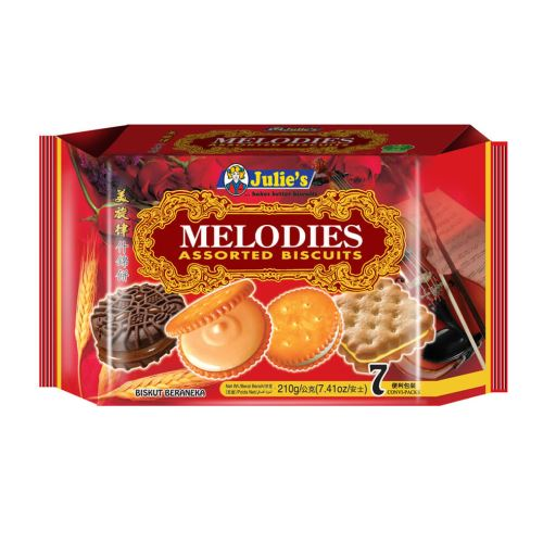 Melodies Assorted Biscuits 210g