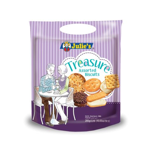 Treasure Assorted Biscuits 285g