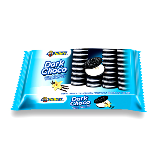 Dark Choco Vanilla Flavoured Cream Sandwich 145g