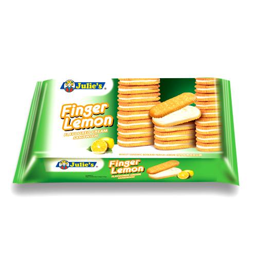 Finger Lemon Flavoured Cream Sandwich 126g