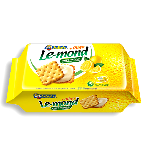 Le-Mond Puff Lemon Sandwich 85g