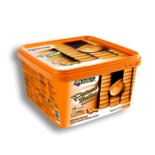 Peanut Butter Sandwich (18's) 540g