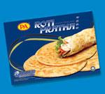 Puff Pratha (Roti Pratha Cooked)