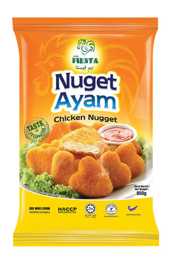 FIESTA Chicken Nugget 850g