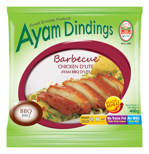 AD Barbecue Chicken D'lite 400g