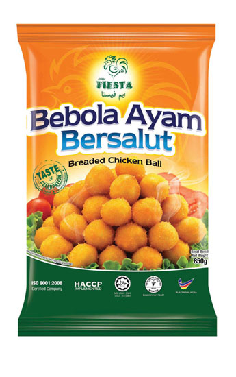 FIESTA Breaded Chicken Ball 850g