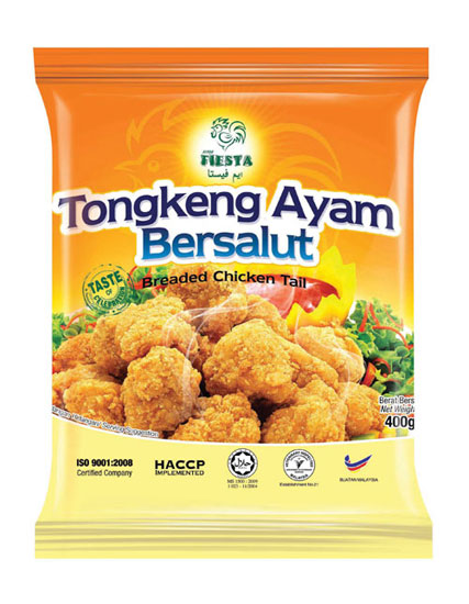 FIESTA Breaded Chicken Tail 400g