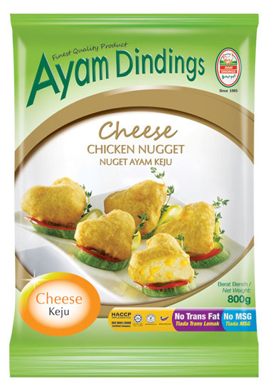 AD Cheese Chicken Nugget 800g