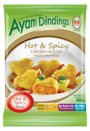 AD Hot & Spicy Chicken Nugget 800g