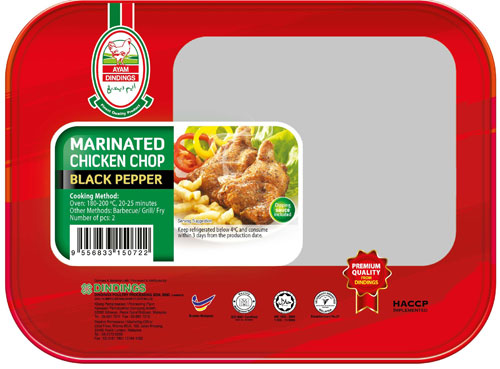 AD Marinated Chicken Chop (Black Pepper) 2 PCS
