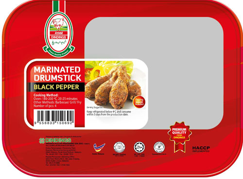 AD Marinated Drumsticks (Black Pepper) 2 PCS