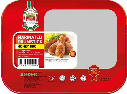 AD Marinated Drumsticks (Honey BBQ) 4 PCS