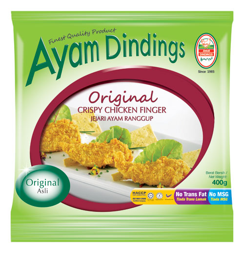 AD Crispy Chicken Finger 400g