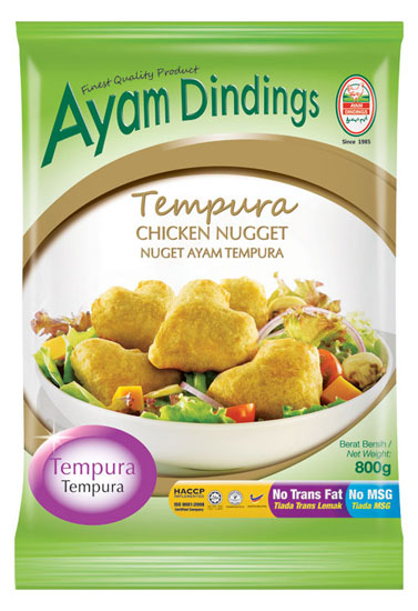 AD Tempura Chicken Nugget 800g