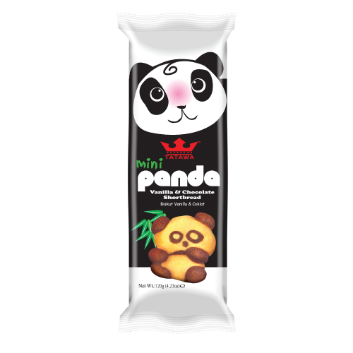 Mini Panda Shortbread