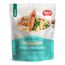 Premium Fresh Cooked Ramen: Penang Hokkien Mee