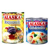 Alaska Evaporada & Alaska Condensada