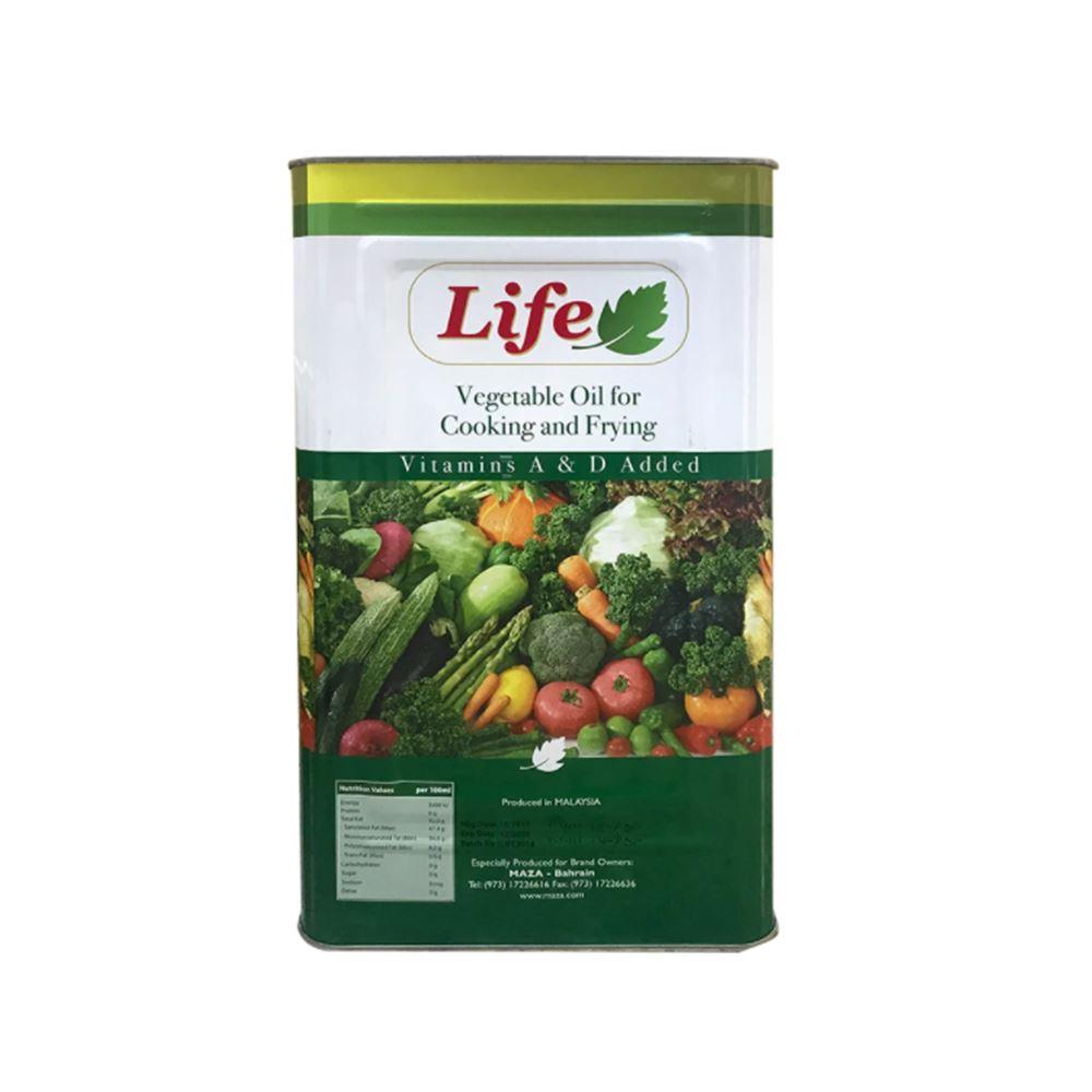 LIFE Vegetable Oil 18 Ltr