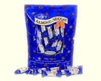 Soft Almond Nougat Candy
