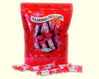 Crunchy Almond Nougat Candy