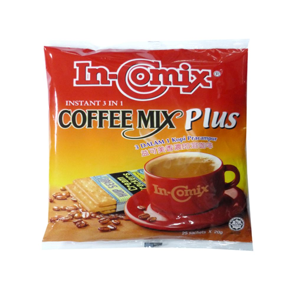 In-Comix 3 In 1 Coffee Mix Plus