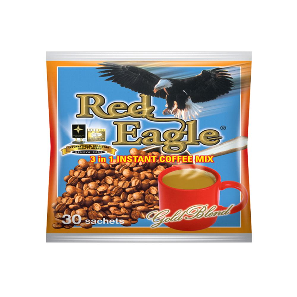 Red Eagle 3 In 1 Coffee Mix