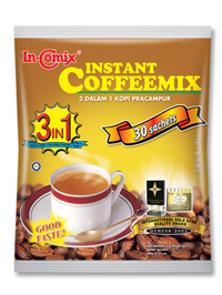In-Comix 3 In 1 Instant Coffee Mix