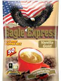 Eagle Express 3 In 1 Instant Coffee Mix (Vanilla Gold)