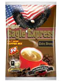 Eagle Express 3 In 1 Instant Coffee Mix (Extra Strong)