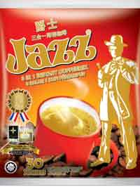 JAZZ 3 In 1 Instant Coffee