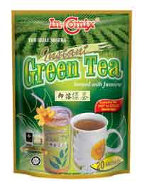 Instant Green Tea Brewed with Jasmine