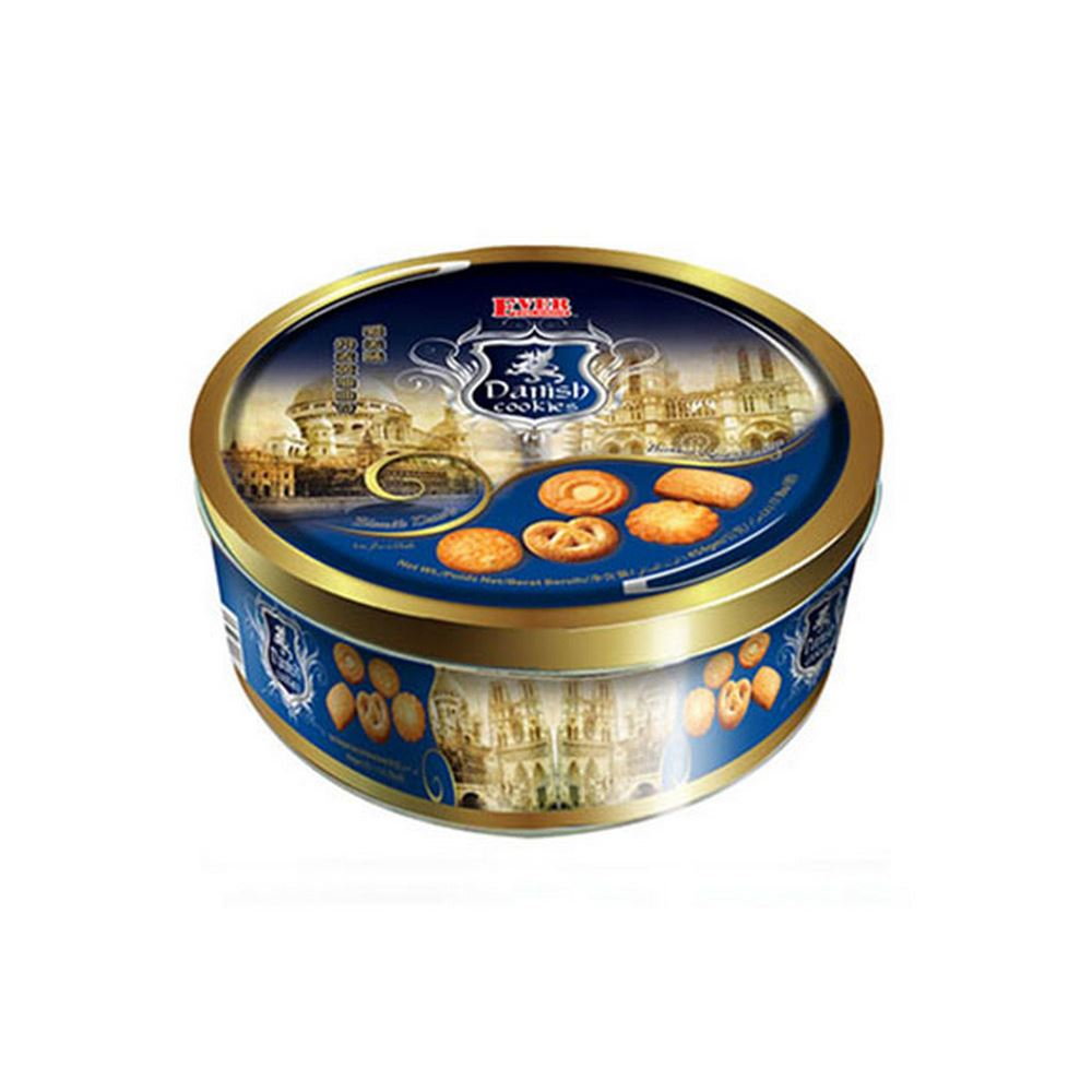 454g Danish Cookies(Dark Blue)