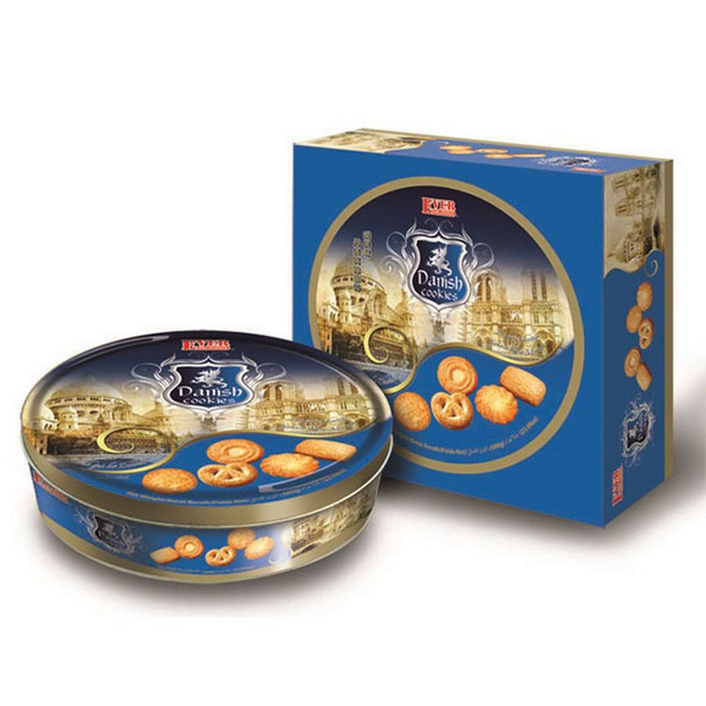 680g Danish Cookies(Blue)