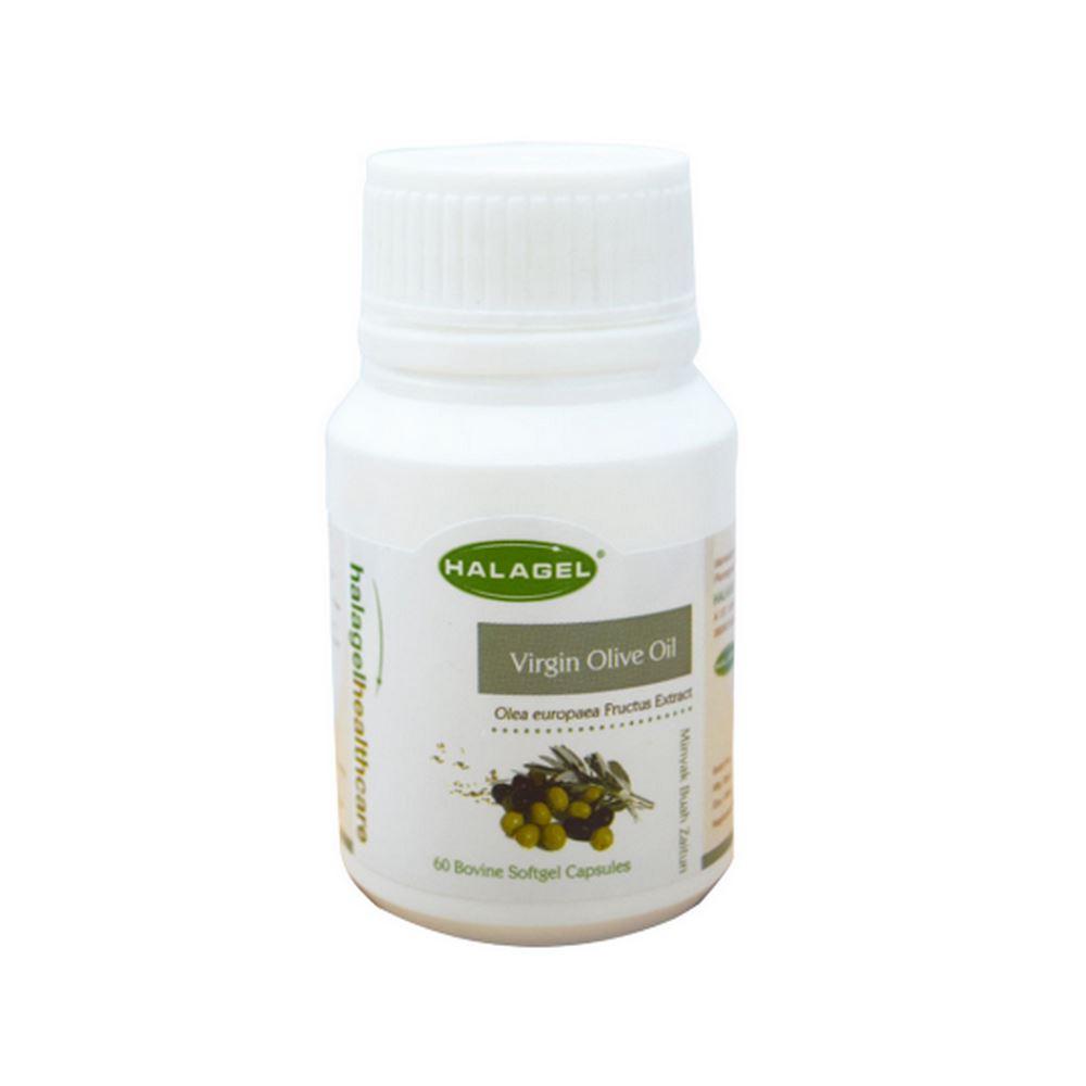 Halagel Extra Virgin Olive Oil In Gelatine Softgel, 60'S