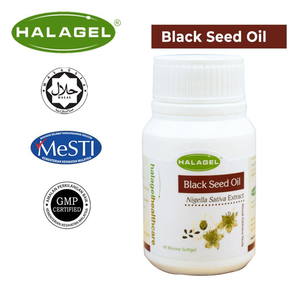 Halagel Black Seed Oil In Gelatine Softgel, 60'S