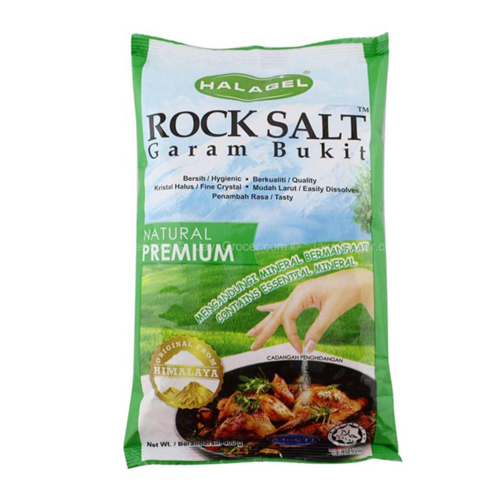 Halagel 400g Himalaya Crystal Rock Salt (Premium)