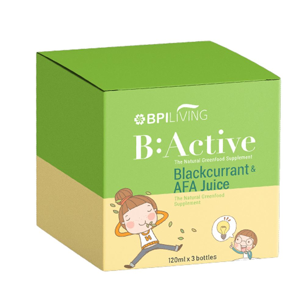 B:Active: Blackcurrant & AFA Juice