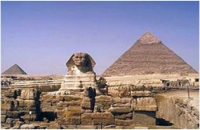Spinx & Pyramid, Egypt