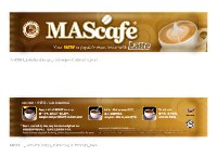Premium Class of Instant Coffee - Latte