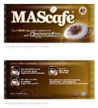 Premium Class of Instant Coffee - Cappuccino