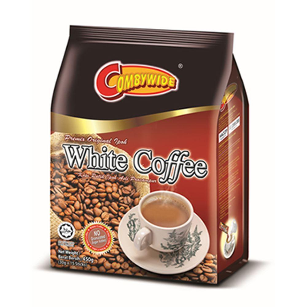 2 in 1 White Coffee - No Sugar Added