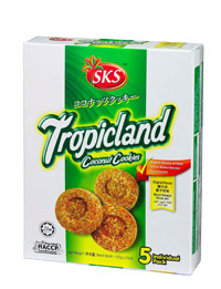 Tropicland Coconut Cookies