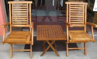 Hamton Arm Chair & Rectangular Picnic Table