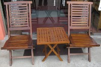 Hamton SD Chair & Rectangular Picnic Table