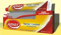 Tartar Control Toothpaste (with Toothbrush)
